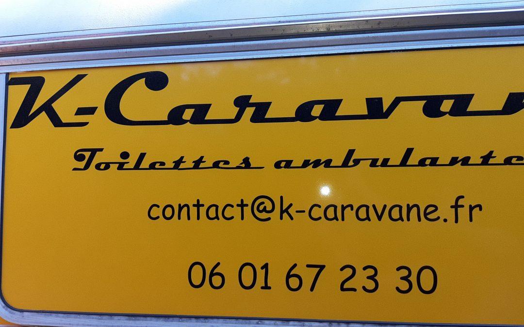 La nouvelle k-caravane est arrivée….elle est Jaune !