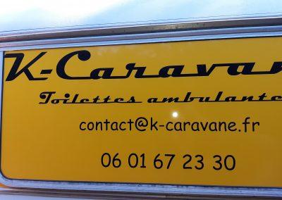k-caravane jaune panneau ext